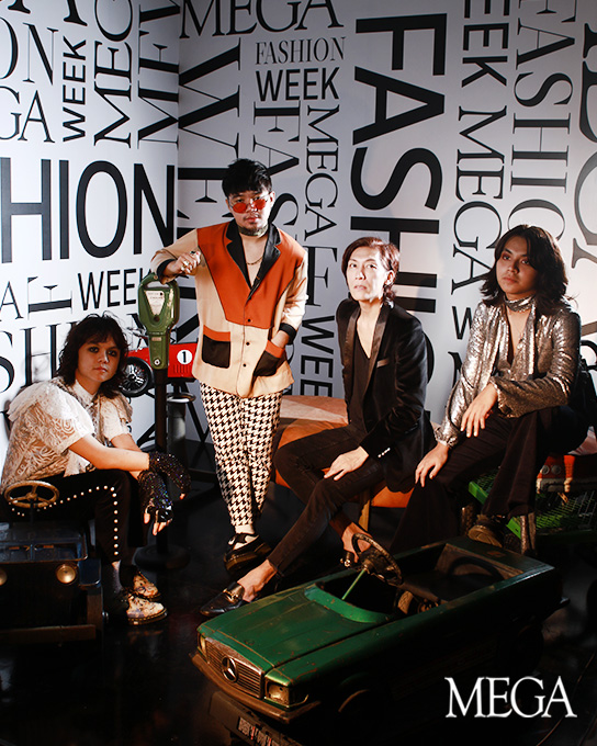 IV of Spades with Neric Beltran   All The Celebrities At Neric Beltran's Star-Studded Runway Debut   MEGA