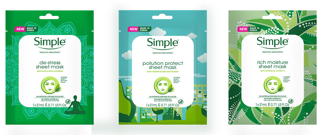 Need A Quick Fix? Try These New Face Masks From Simple