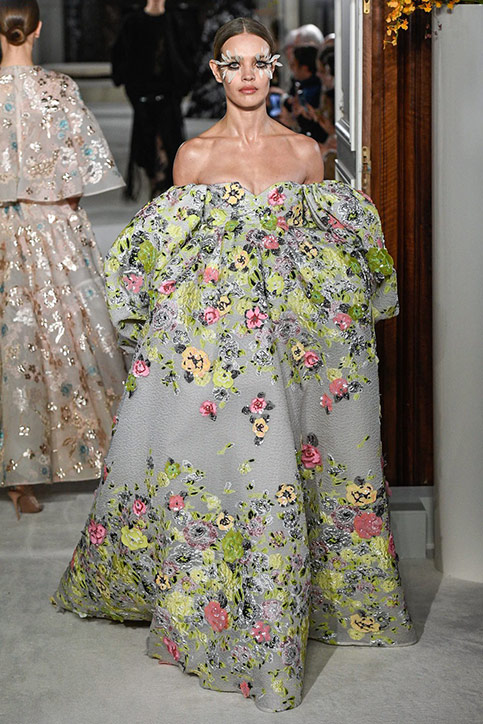 Valentino for Paris Haute Couture Week